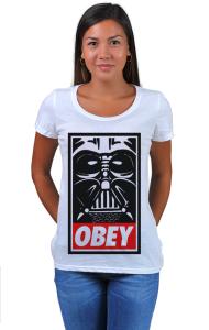Футболка Дарт Вейдер ОБЕЙ | Darth Vader OBEY