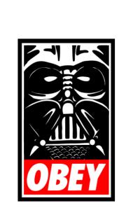 Постер Дарт Вейдер ОБЕЙ | Darth Vader OBEY