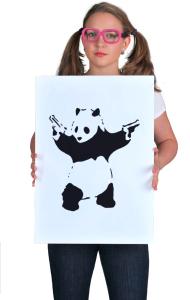 Постер Панда Бэнкси | Panda Banksy