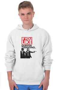 Худи Криминальное чтиво Квентин Тарантино  Pulp Fiction Quentin Tarantino