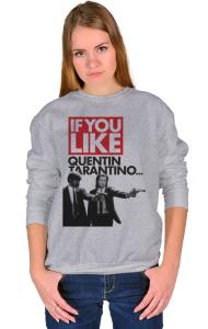 Свитшот Криминальное чтиво Квентин Тарантино| Pulp Fiction Quentin Tarantino