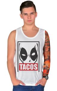 Футболка Дэдпул Такос| Deadpool Tacos
