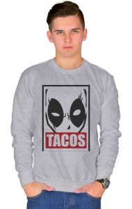 Свитшот Дэдпул Такос| Deadpool Tacos