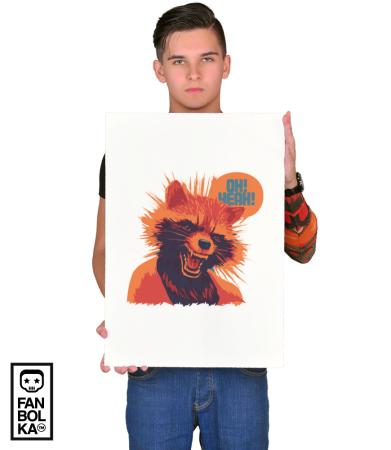 Постер Реактивный Енот | Rocket Raccoon