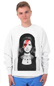 Свитшот Лана Дель Рей. Боуи | Lana Del Rey. Bowie