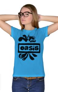 Футболка Оазис лого | Oasis new logo