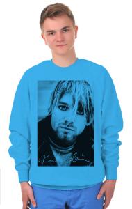 Свитшот Плакат Нирвана. Курт Кобейн Гранж | Nirvana. Kurt Cobain Grunge