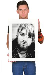 Постер Плакат Нирвана. Курт Кобейн Гранж | Nirvana. Kurt Cobain Grunge