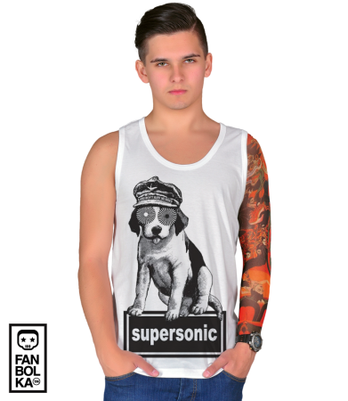 Футболка Оэйзис Суперсоник | Oasis Supersonic