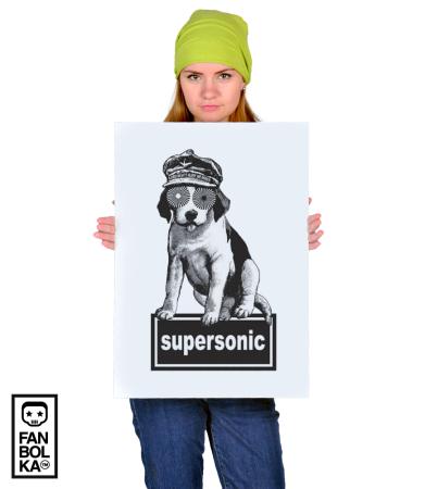 Постер Оэйзис Суперсоник | Oasis Supersonic