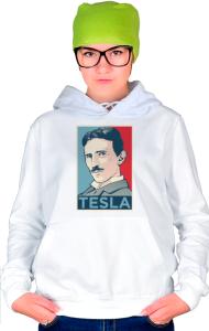 Худи Тесла ОБЕЙ|Tesla OBEY
