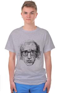 Футболка Постер Вуди Аллен Арт|Woody Allen Art