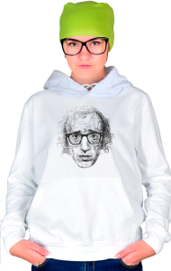 Худи Постер Вуди Аллен Арт|Woody Allen Art