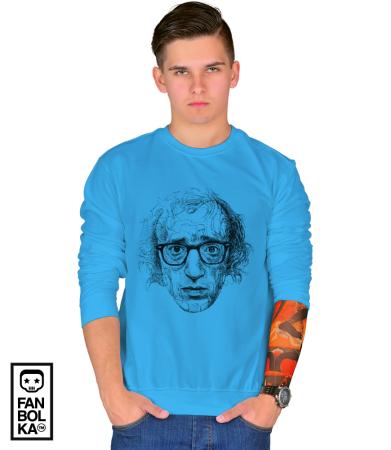 Свитшот Постер Вуди Аллен Арт Woody Allen Art