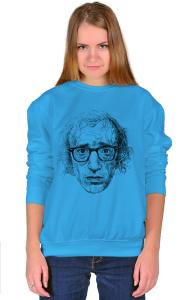 Свитшот Постер Вуди Аллен Арт|Woody Allen Art