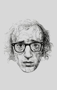 Постер Постер Вуди Аллен Арт|Woody Allen Art