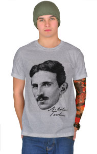 Футболка Никола Тесла|Nikola Tesla