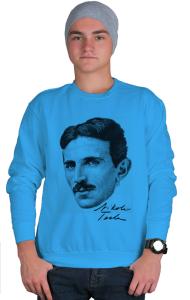 Свитшот Никола Тесла|Nikola Tesla