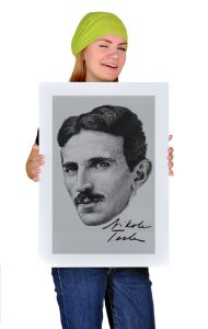 Постер Никола Тесла|Nikola Tesla