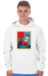 Худи Гипножаба ОБЕЙ|Hypnotoad OBEY
