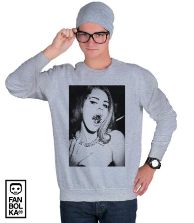 Свитшот Лана Дель Рей Бриллиант|T-shirt Lana Del Ray Diamond