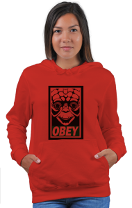 Худи Йода ОБЕЙ| Yoda OBEY