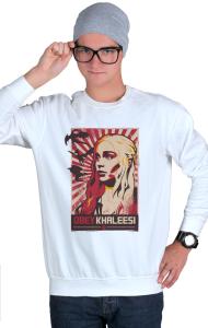 Свитшот Кхалиси Дейенерис ОБЕЙ | Khaleesi Daenerys OBEY