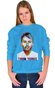 Свитшот Том Йорк Радиохед Thom Yorke Radiohead
