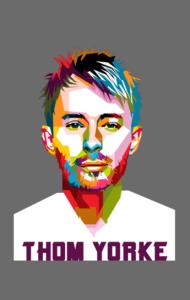Постер Том Йорк Радиохед|Thom Yorke Radiohead
