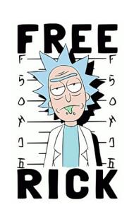 Постер Рик Свободен  Free Rick