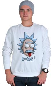 Свитшот Рик и Морти Эйнштейн | Rick and Morty Einstein