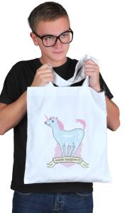 Сумка Чертовски замечательный единорог |Fucking wonderful unicorn