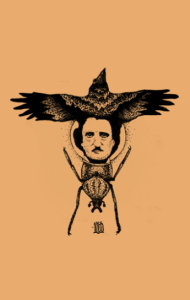 Постер Ворон-Эдгар По-Золотой жук | The Raven-Edgar Poe -Gold bug