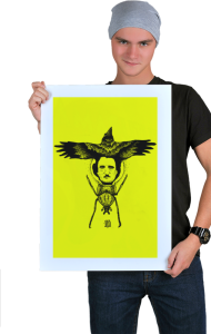 Постер Ворон-Эдгар По-Золотой жук   The Raven-Edgar Poe -Gold bug