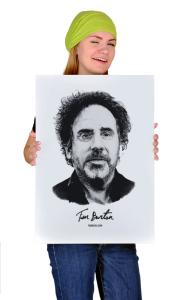 Постер  Тим Бартон   Tim Burton