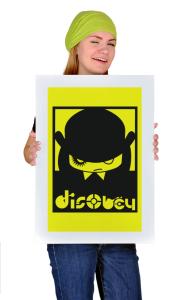 Постер Заводной апельсин | Clockwork Orange-Disobey