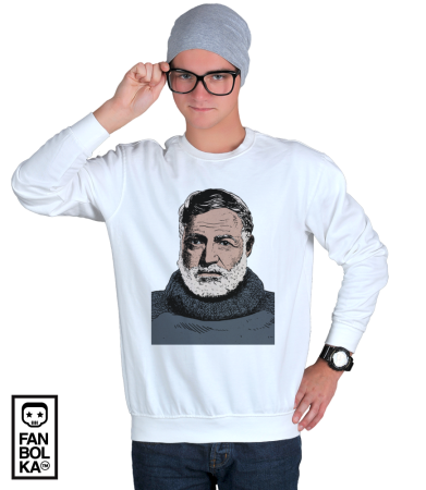 Свитшот  Эрнест Хемингуэй| Ernest Hemingway
