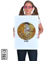 Постер Климт «Золотая Адель»