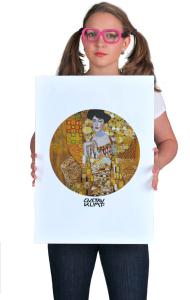 Постер Климт «Золотая Адель» | Klimt «The Lady in Gold»