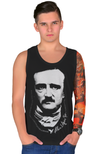 Футболка Эдгар Аллан По | Edgar Allan Poe