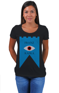 Футболка Кафка Замок  | Kafka Castle