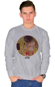Свитшот Климт Поцелуй   The Kiss Klimt