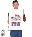 Постер Мечтательный Единорог