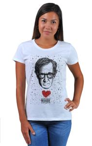 Футболка Сердце Вуди Аллена | Woody Allen Heart
