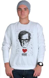 Свитшот Сердце Вуди Аллена | Woody Allen Heart