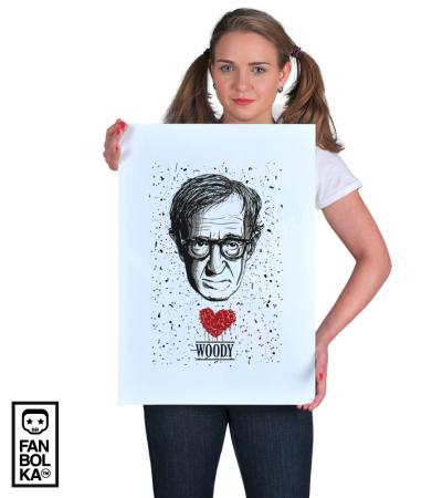 Постер Сердце Вуди Аллена | Woody Allen Heart