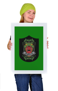 Постер Слизерин | Slytherin