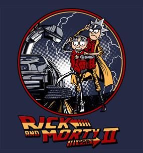 Заказать футболку RICK AND MORTIE