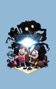 Постер Гравити Фолз | Gravity Falls
