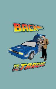 Постер Назад в ТАРДИС   Back to TARDIS